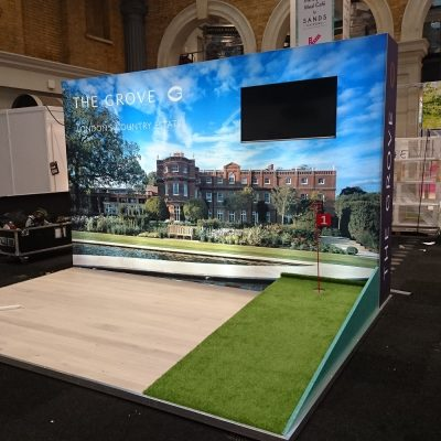 Modular Exhibition Stand Leicester
