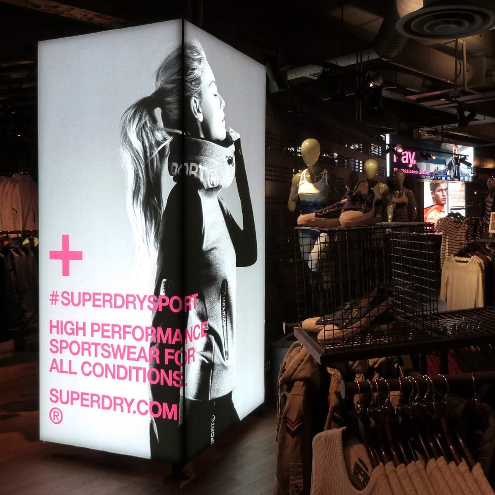 Retail Lightbox Printing Leicester