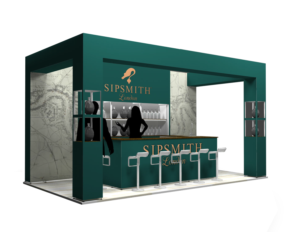 Sipsmith Exhibition Design Leicester
