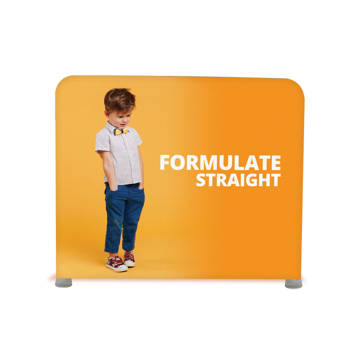 Formulate Straight Stretch Fabric Display Exhibition Stand