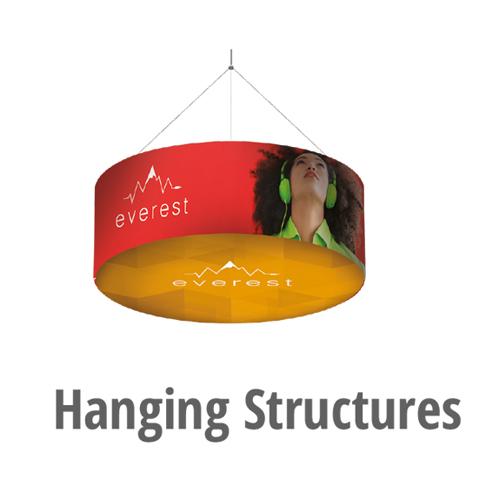 Hanging Structures - Modular Exhibition Stands - 5StudioUK