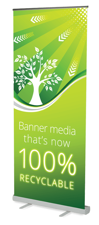 NEW Eco Friendly Roller Banners