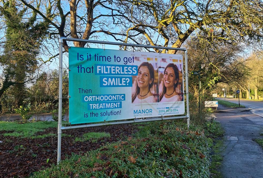 PVC FREE ADVERTISING BANNER